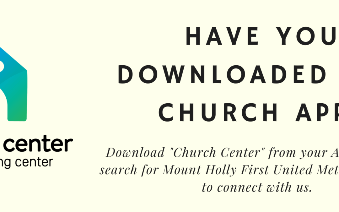 Download our Church App!